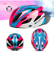 Wholesale Upgrade Colors Ultralight Cycling Helmet With Insect Net Cycle Helmet Bicycle Helmet Women Men Integrally molded Bike Helmet Visor