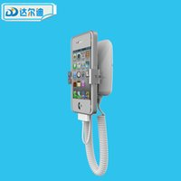 Wholesale Chargable Anti theft Alarm Display Stand Holder for Cell Phone Mobile Security With Gripper USB Port in Retail Phone Shop Exhibit Protection