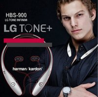 Wholesale HBS HBS HBS900 Wireless Bluetooth Sport Neckband Tone Headphone Earphones Headsets For iphone s plus Samsung S7 S6 edge DHL Free