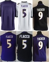 baby raven - Youth Kids Baby Football Stitched Ravens Blank Flacco Tucker R Lewis Purple Black White Jerseys Mix Order