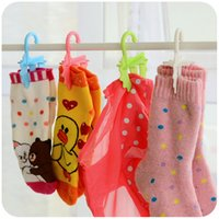 clothes closet organizer - Drying Rack Colorful Sock Plastic Wall Hanging Organizers Holder Sock Laundry Hanging Organizer Underwear Drying Rack