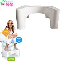 Wholesale CRW Bathroom Accessories Squatty Potty inch ABS Plastic Original Toilet Stool Health Care Poo Poo Stool