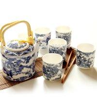 Wholesale Jingdezhen ceramics tea sets teapot top grade tea sets
