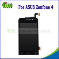 asus parts - Original quot Smartphone Full LCD Assembly For ASUS ZenFone A400CG A450CG LCD Display with Digitizer Touch Screen Parts Tim4