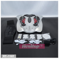 Wholesale Shipping by DHL Acupuncture neuromuscular electrical stimulation foot care machine blood circulation foot massager health equipment