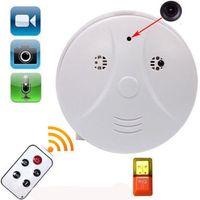Wholesale Mini HD SPY DVR Hidden Camera Smoke Detector Motion Detection Video Recorder Cam with Remote Control