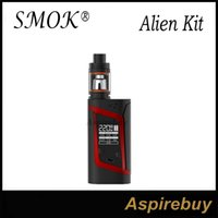 baby mode - SMOK Alien Kit Alien TC Box Mod with ML TFV8 Baby Tank TCR Mode Dual Battery Large Air Chamber with Four Alternate Coils Genius
