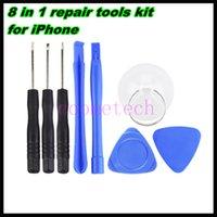 Wholesale Repair Tools Kit Pentalobe Star Screwdriver Screen iphone4 S S Plus Sets repair tool