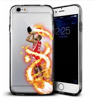 basketball phone covers - new TPU phone cases for iphone s plus note7 s7 soft TPU painting cover case basketball football man star design defender case GSZ103B