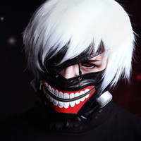 Wholesale New Hot Cheap Best Quality Tokyo Ghoul cosplay wig