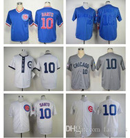 best color rip - 2017 New Hot Selling Chicago Cubs Baseball Jerseys Ron Santo Jersey Blue Grey White Home Team Color Throwback Best Quality Men