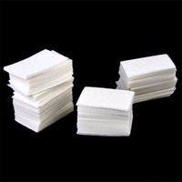 best polishing pads - Best Sale Cotton Soft Nail Polish Arcylic UV Gel Remover Removal Wipes Pads