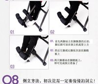 bench product - Inversion Table Deluxe Curved Chiropractic Fitness Exercise amp Back Reflexology by Best choice product