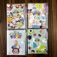 Wholesale Hot Sale Cartoon Cute Tsum Notebook With Ballpoint pen CM Study Stationery Set Cartoon Toy Gifts Favors