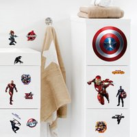 american film poster - iron man avengers Captain American movie film home decal wall sticker for kids rooms diy computer living room wall art poster