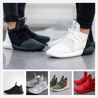 Cheap Free Postage Tubular Defiant Y3 Running Shoes White Black Red Sports Shoes Men Women Athletic Shoes Size 5.5-10