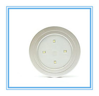 area mini lights - Mini portable round led lights PER BOX with Double sided Tape used for cupboard wardrobe and other small area Lighting
