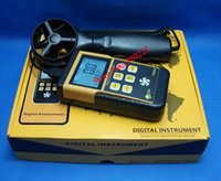anemometer usb - High quality handheld anemometer TD826 Wind speed range m S wind speed meter standard USB interface