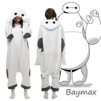 big onesie - Hot Big Hero Baymax Onesie Kigurumi cosplay Costume Hoody Pajamas Sleepwear Size S M L XL