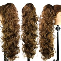 Wholesale European and American fashion lady horse hair claw clip curly hair female foreign trade boutique