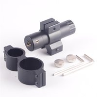 air pistol hunting - Tactical Mini Red Dot Laser Sight Mira Air Pistol Laser Sight Sight Scope Mount Set For Hunting Tactical Laser