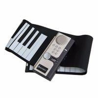 Wholesale Soft Key Flexible Portable Digital Electronic MIDI Keyboard Piano Roll
