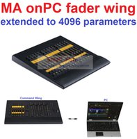 Wholesale Cheap DMX Console Copy MA onPC fader wing From MA Lighting Connect to PC Lighting Console Real time Control parameters