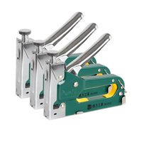 Wholesale 3 in Multi function Manual Framing Nail Gun Manual Nailer Guns Manual Stapler shape Nails for Wood Furniture Home Upholstery
