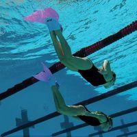 Wholesale 2016 swimming mermaid for swim Children Tail Costume for Swimming Scuba Fins Aquarius Monofin Mermaid Tails for Swimming