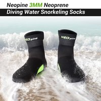 Wholesale 3MM Neoprene Fin Socks Water sport Boots Scuba Diving Socks