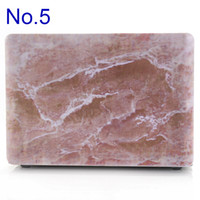 Wholesale Fashion Cover Skin for Macbook Pro Retina inch inch Marble Texture Cover for MacBook Full Body Protective case
