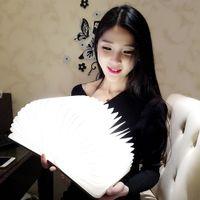 Wholesale Wooden Folding Portable LED Book Light Lamp USB Rechargeable Nightlight Booklight Lumens