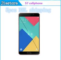 Wholesale goophone A9 A9000 PLUS Inch metal Android Phone Mtk6580 Quad Core show fake G G Dual Camera show G Lte