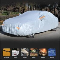 Wholesale Complete Car Covers Waterproof Rain Resistant Anti Snow Sunshade Heat Protection Anti UV Indoor Outdoor Car Dress PEVA Auto Wearfor SUV SED