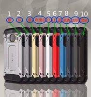 spigen - Armor Shockproof Spigen Cell Phone Case For IPhone7 plus S plus TPU PC In