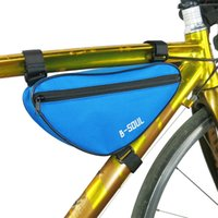 bicycle top tube bag - Outdoor Bike Front Top Tube Bag Bicycle Frame Triangle Pannier Cycling Saddle Pouch MN0035 kevinstyle