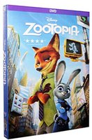 Wholesale Zootopia DVD Box Set new Latest DVDS and Hot Seller by DHL Shipping