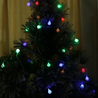 Wholesale Christmas Decoration New Year LED Lighting Strings WarmWhite Colorful Lights Types Bubles Christmas Lights Garlands