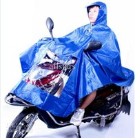 Wholesale Convenient Motorcycle Rain Hooded Riders Raincoat Waterproof D