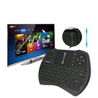 Wholesale Rii I9 Air Mouse Backlit Gaming GHz Wireless Air Mouse Bluetooth Remote Control for TV Box Mini Keyboard