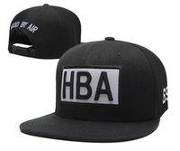 b letters - DHL new arrival HBA Snapbacks MLB caps hats caps fashionable standaheadgear chapeau Ball jets Kappen casquettes tapas tampas b