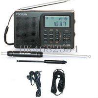 Wholesale Tecsun PL Digital PLL Portable Radio FM Stereo LW SW MW DSP Receiver Nice Gift Radio Cheap Radio