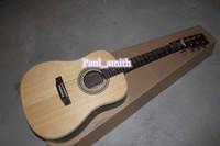 Wholesale Custom shop guitars Acoustic Top quality the gold metal part headcase Hot Selling Guitar beautiful original