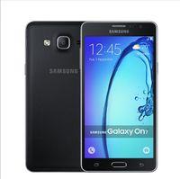 Wholesale Original Samsung Galaxy On7 G6000 G LTE Dual SIM Cell Phone inch Quad Core RAM1 G ROM GB MP Camera Refurbished Phone ship dhl