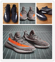 Wholesale Boost V2 Kanye West Season Originals SPLY V2 Shoes Steelth Grey Orange Black White Athletic Running Sneakers For Men Women