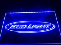 Holiday beer clubs - LA001b Bud Light Beer Bar Pub Club NR Neon Light Signs