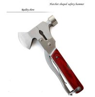 Wholesale High quality multi purpose outdoor emergency lifesaving safety hammer car manual hardware tools