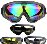 Wholesale Outdoor Sports Glasses Motorcycle Goggles Sand Proof Riding SKI Goggles Protect Your Eyes Bright Lens Many Colors to Choose Free Size