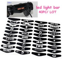 best stickers - Creative LED Sticker Decal for PS4 Best Cheap Replacement Parts LED Light Bar Stickers for Play Station Controller pc