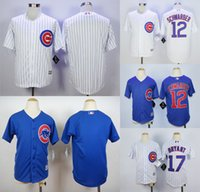 Wholesale Cheap Youth Chicago Cubs Scherzer Bryant Rizzo Heyward Arrieta Kids Baseball Jersey Child Christmas gift